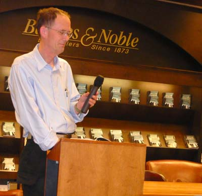 William Gibson at Barnes and Noble