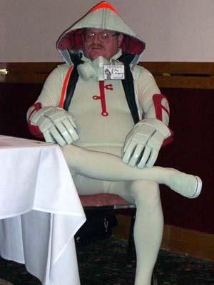 CIMG0927 Jay Maynard in his alternative Tron costume