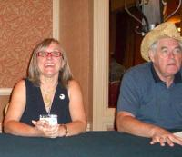 CIMG3726 Julie Czerneda and James P. Hogan