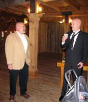 IMG_0596 Don Rhoades and Mike at the bar before the ceremony