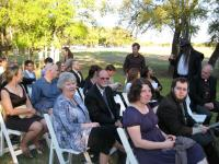IMG_0619 Clare, Roger, and other guests wait for the ceremony to start