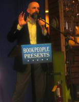 P1020202 Neal Stephenson at Book People in Austin, TX in 2008
