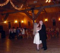 "P1110913 Beth and Matt's first dance: Tim McGraw ""It's Your Love""."