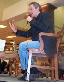 "P640 Brian Greene in Austin in March of 2005, promoting his book ""The Fabric of The Cosmos""."