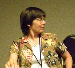 Alexis Glynn Latner at ApolloCon 2007