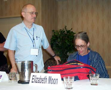 Vernor Vinge and Elizabeth Moon