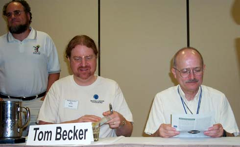 Kurt Baty, Tom Becker and Vernor Vinge