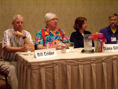 Bill Crider, Willie Siros, Diana Gill, and Zane Melder on the What You Should Have Read This Year panel