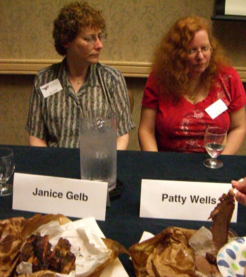 Janice Gelb and Patty Wells