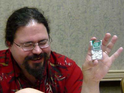S. Andrew Swann imagines science-fictional uses for tic-tacs